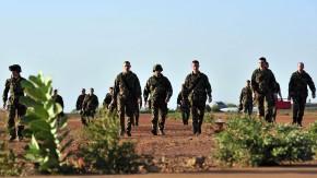 Französische Soldaten auf der Militärbasis in der malischen Haupstadt Bamako