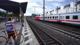 Umleitungen und Verspätungen im Bahnverkehr