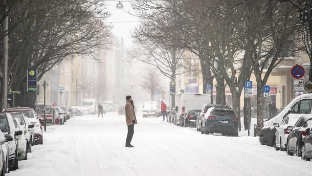 Ein Sonntag im Schnee