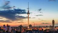 Blick auf den Berliner Fernsehturm.