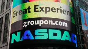 Groupon-Patzer zeigt Risiko von Internetaktien