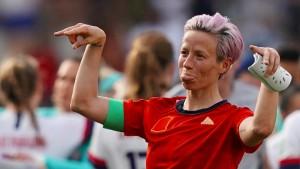 Fußballerin Rapinoe will nicht ins Weiße Haus
