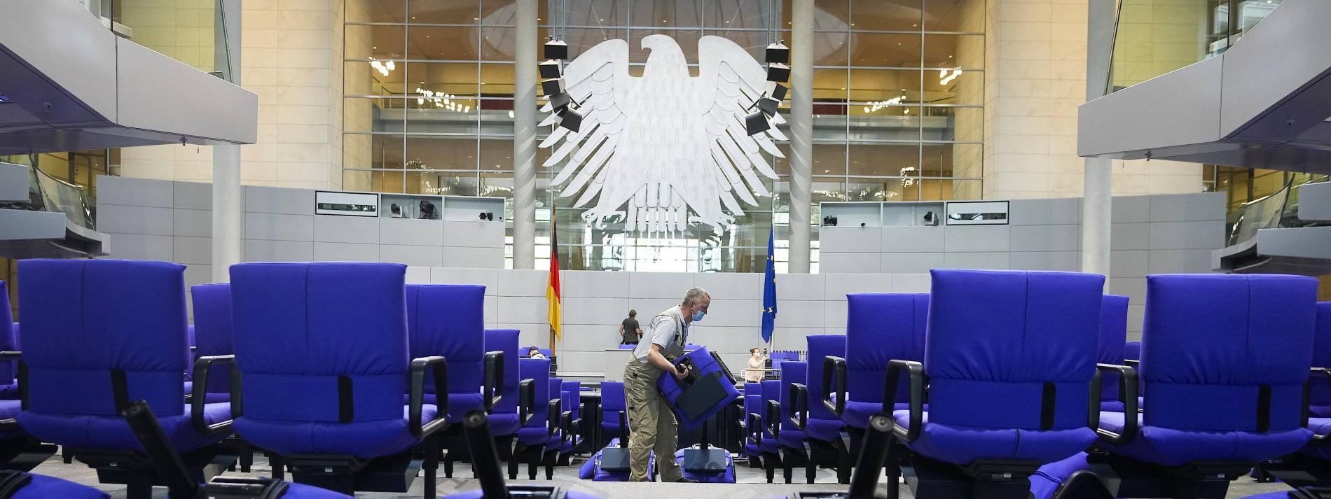 Wer sitzt wo im neuen Bundestag?