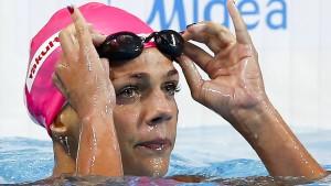Die Scharapowa des Schwimmens