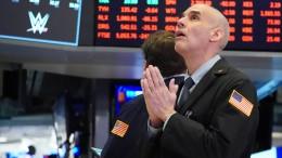 Aktienkurse stürzen weiter ab