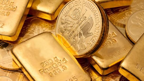 Geld vergeht, Gold besteht?