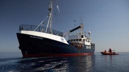 """Alan Kurdi"" rettet 100 Migranten aus Booten im Mittelmeer"