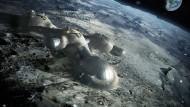 Die Europäische Weltraumorganisation (Esa) plant eine internationale Basisstation auf dem Mond.