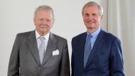 Wolfgang Porsche (links) und Hans Michel Piëch