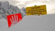 Fünf Menschen von Lawine in den Alpen getötet