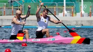 Deutsche gewinnen Bronze im Canadier-Zweier