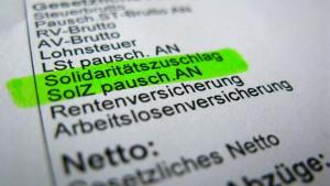 FDP nimmt den Abbau des Soli in den Blick