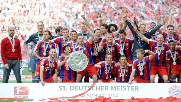 Letzte Bayern-Party vor dem Pokalfinale