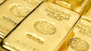 Gold ohne Glanz