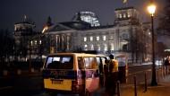 Polizisten zur Silvesternacht in Berlin