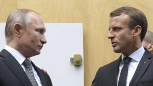 Macron kommt Russland bei Atomraketen entgegen