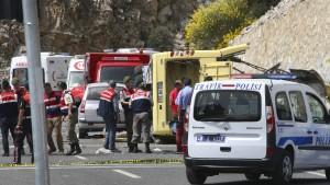 23 Tote bei Busunglück an türkischer Südwestküste