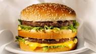 Seit 50 Jahren bewährt: der Big Mac