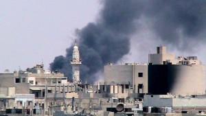 Schwere Gefechte in Aleppo und Damaskus