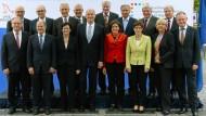 Geber und Nehmer: Die Ministerpräsidenten der Länder auf ihrer Konferenz am 16. Oktober in Potsdam