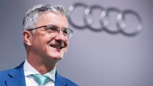 Razzia bei Audi-Chef Stadler