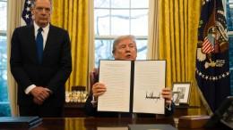 Trump verhängt Strafzölle