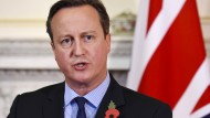 Legt am Dienstag in Brüssel seinen Forderungskatalog für einen Verbleib Großbritanniens in der EU vor: Premier David Cameron