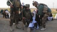 Gegner des IS bekämpfen einander