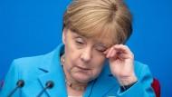 Lange Tage voller Gespräche: Angela Merkel in Peking