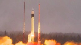 Russland feuert Atomrakete ab