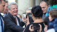 Gauck fordert offene Debatten
