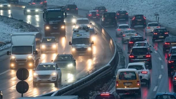 43 Prozent weniger Staus auf Hessens Autobahnen