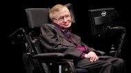 Stephen Hawking im vergangenen Jahr als Science Luminary in Seattle.