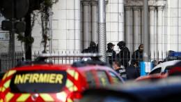 Drei Tote und mehrere Verletzte bei Messerattacke in Nizza