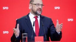 Schulz will Parteibasis über Koalition abstimmen lassen