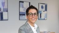 Neuer Arbeitsplatz: Stephanie Krömer in ihrem Frankfurter Büro.