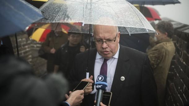 Altmaier verlässt China mit einer Forderung