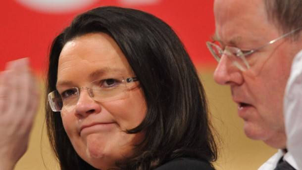 Andrea Nahles übernimmt SPD-Wahlkampfleitung