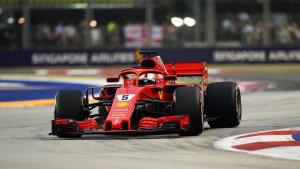 Vettel dominiert das Abschlusstraining