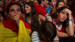 Spanien geschockt von WM-Aus