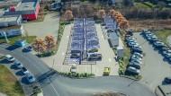 Nummer Eins in Europa: Am Kamener Kreuz entsteht der größte öffentliche Schnellladepark des Kontinents.
