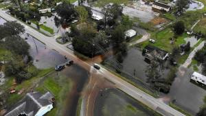 """Sturm """"Florence"""" bringt enorme Fluten mit sich"""