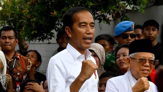 Präsident Widodo bleibt im Amt