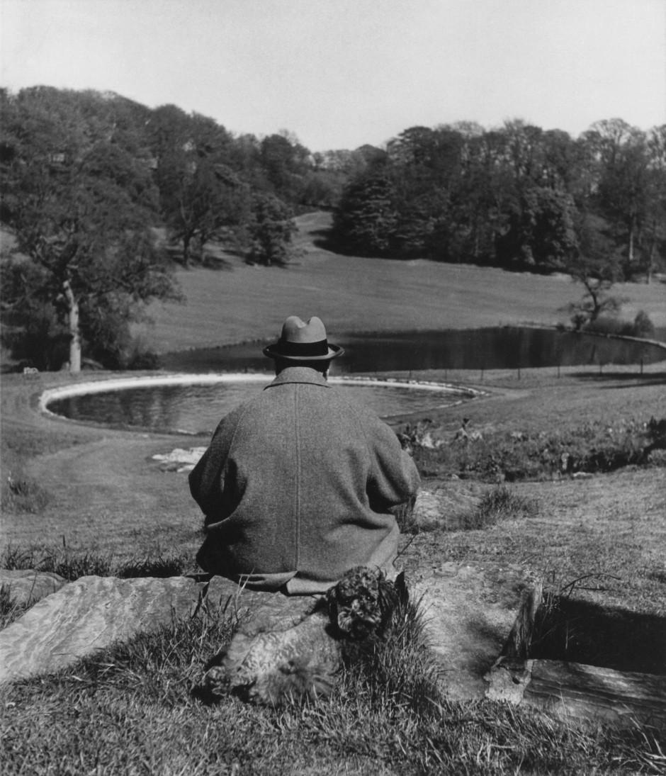 Der Welt den Rücken: In Chartwell fand Churchill Zuflucht.