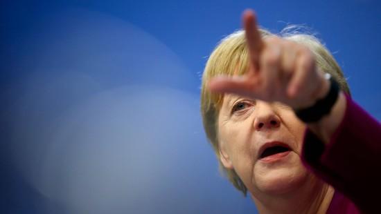 Merkel steht hinter Weber