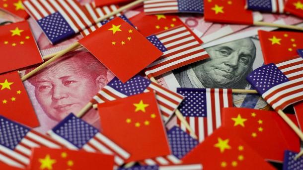 Pekings Munitionslager für den Handelskrieg