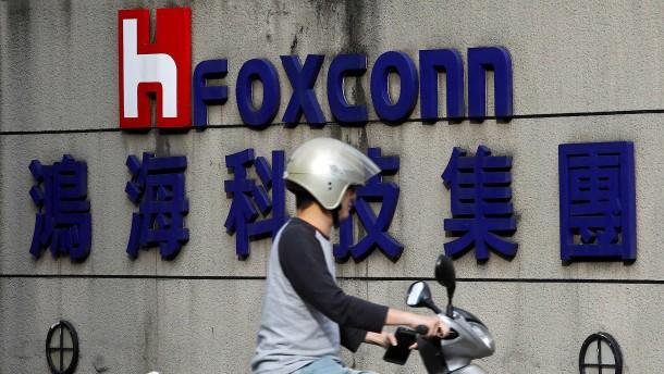 Apple-Zulieferer Foxconn leitet harte Sparmaßnahmen ein