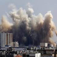Der erste Filmbericht: über den Gazastreifen – das klang da jetzt ja wie ein echter Krieg!