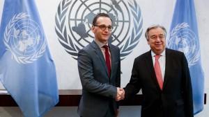 """""""Wir brauchen mehr Vereinte Nationen"""""""
