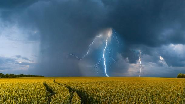 Ein Gewitterkomplex – und mehr als 177.000 Blitze